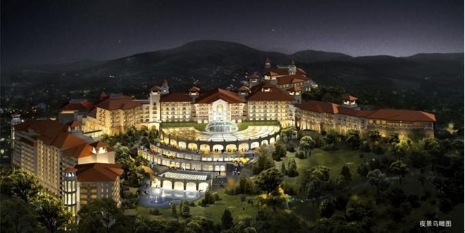 承接湖南省最大的酒店(白金五星)——张家界碧桂园凤凰酒店
